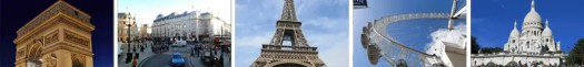 tourist attractions of Paris France