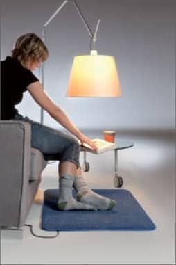 Электрический коврик с подогревом