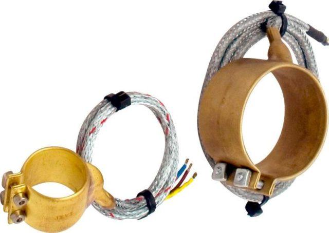 Кольцевые нагреватели для сопел