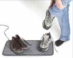Jalatsikuivataja soojendusmatt põrandale