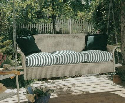 lloyd flanders porch sofa swing patio