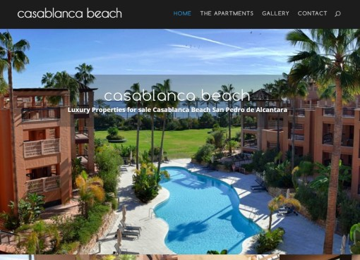 CasablancaSanPedro.com – Beachfront Property for Sale