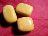 yellow jade tumblestones