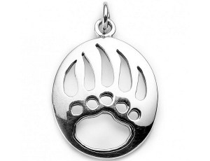 Bear Paw Charm or pendant HT Nov 2016