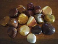Mookaite tumblestones