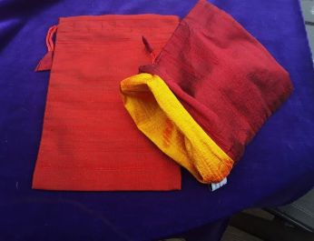 red bag showing lining 2