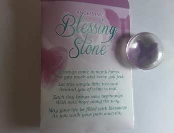 Butterfly Blessing Stone 2