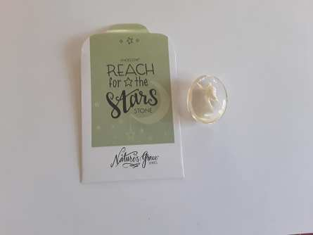 Inspirational Stone - Reach for the stars 1