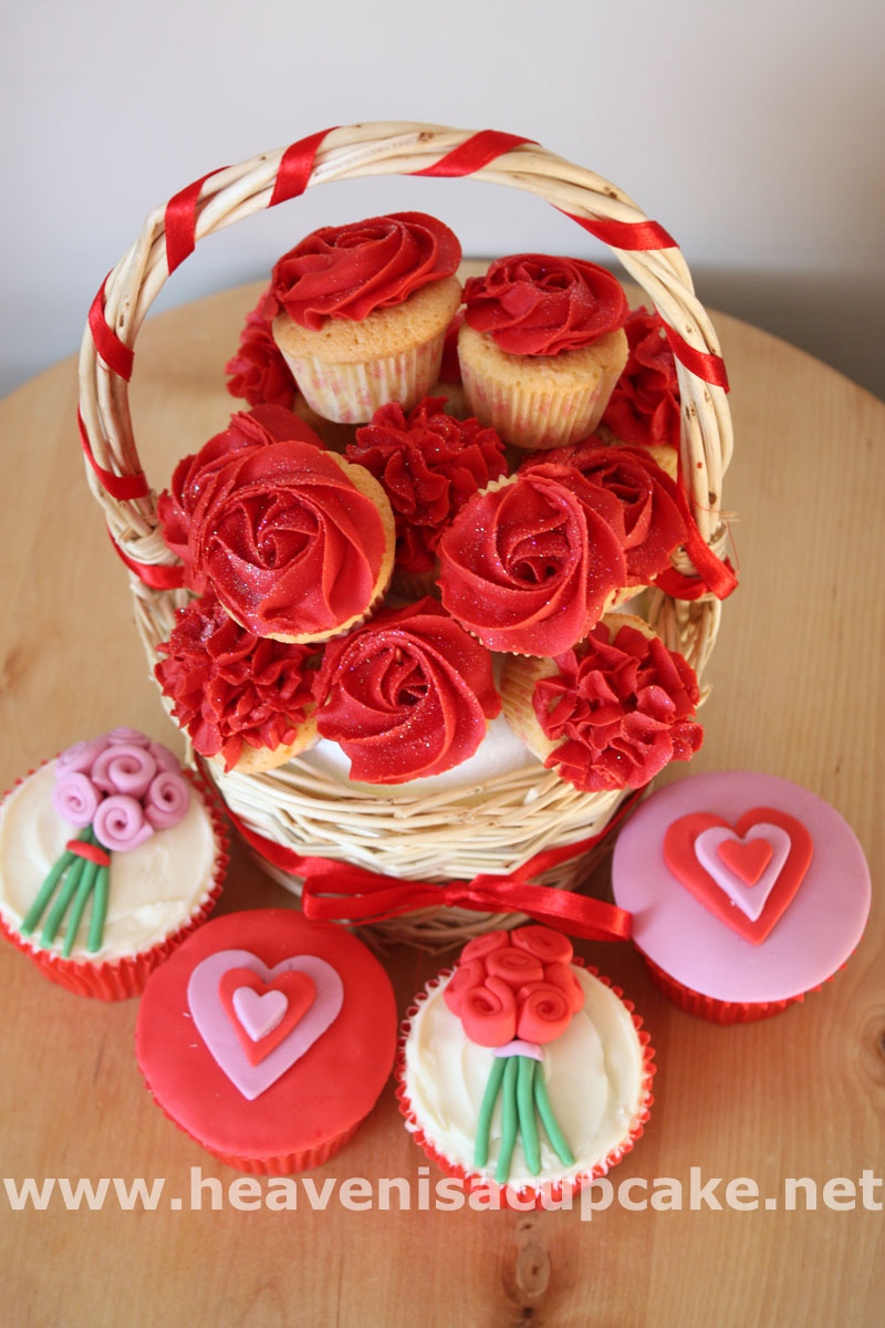 Valentines Day Cupcakes And Cakes Heaven Is A Cupcake