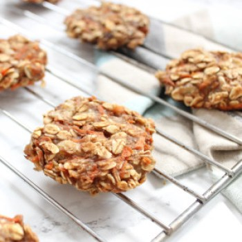 Spiced Carrot Cake Cookies