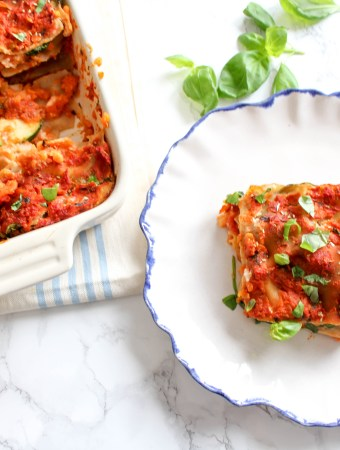 Healthy Cauliflower Lasagna