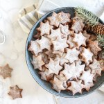 Healthy Almond and Cinnamon Christmas Stars