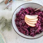 Spiced Apple Cabbage