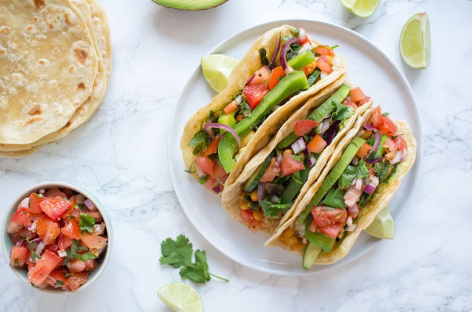 The best home made tacos - vegan, plant based, healthy, refined sugar free - heavenlynnhealthy.com
