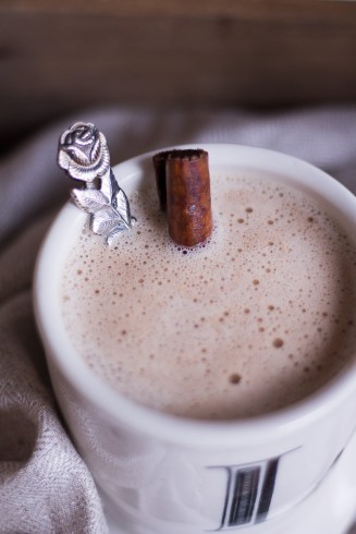 Hot Superfood Chocolate - vegan, plant based, refined sugar free, gluten free - heavenlynnhealthy.com