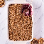 Healthy Gingerbread Crumble