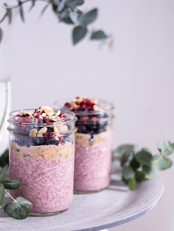 Berry Chia Pudding – Alpro H.A.P.P.Y Challenge