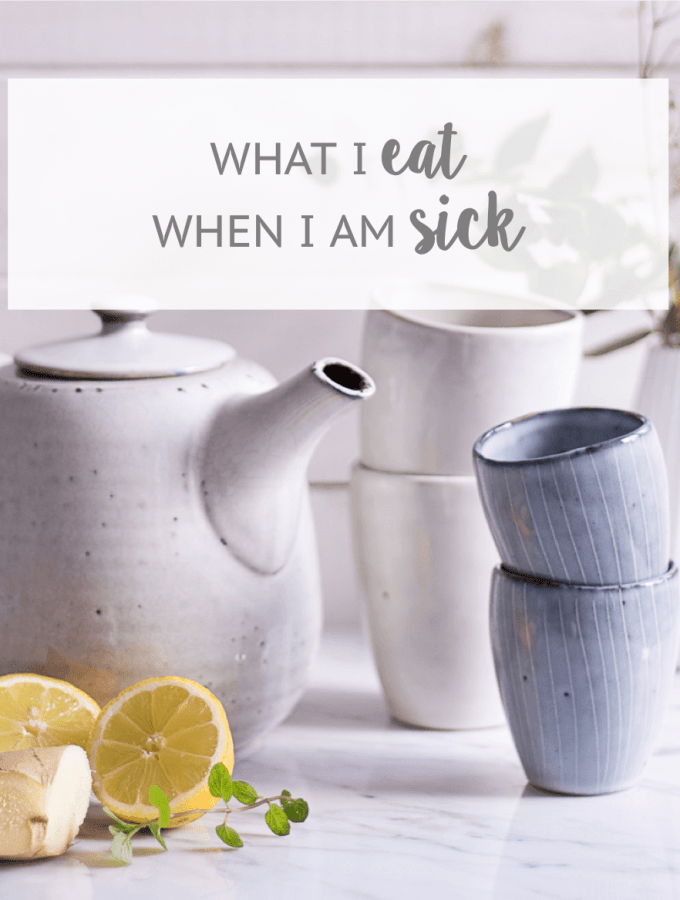What I Eat When I'm Sick - heavenlynnhealthy.com