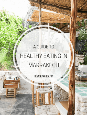 Healthy Eating in Marrakech