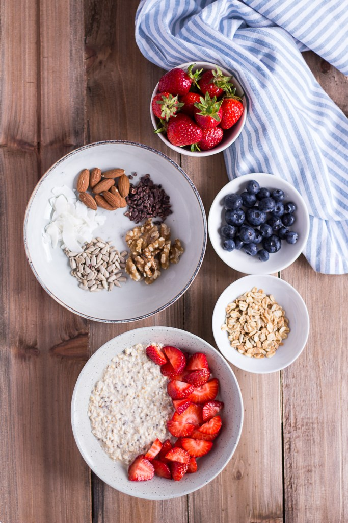 Overnight Oats - my favorite basic recipe - plant-based, vegan, gluten free, refined sugar free - heavenlynnhealthy.com