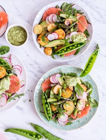 """Spring Awakening """"Glow"""" Salad"""