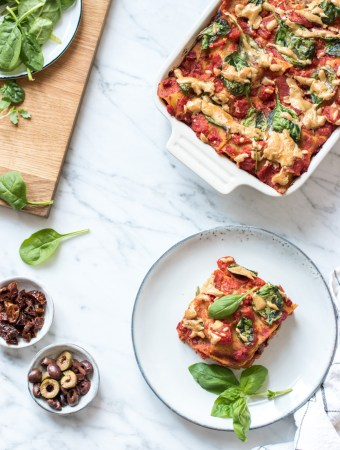 Life-changing plant-based lasagna for everyday life