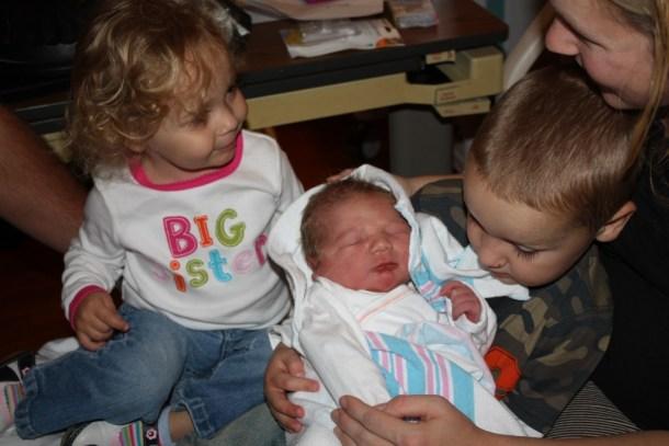 third baby siblings