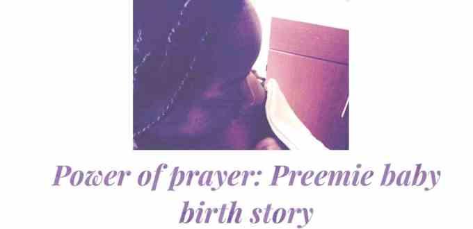 Power of prayer birth story