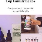 Top family herbs