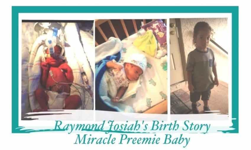 raymond Josiah's birth story