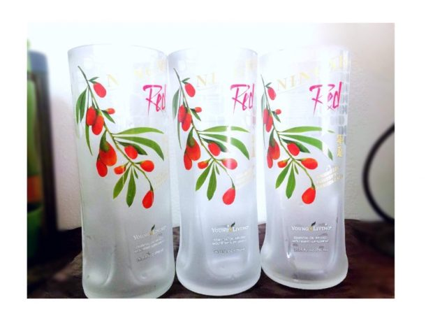 ningxia red tall glass