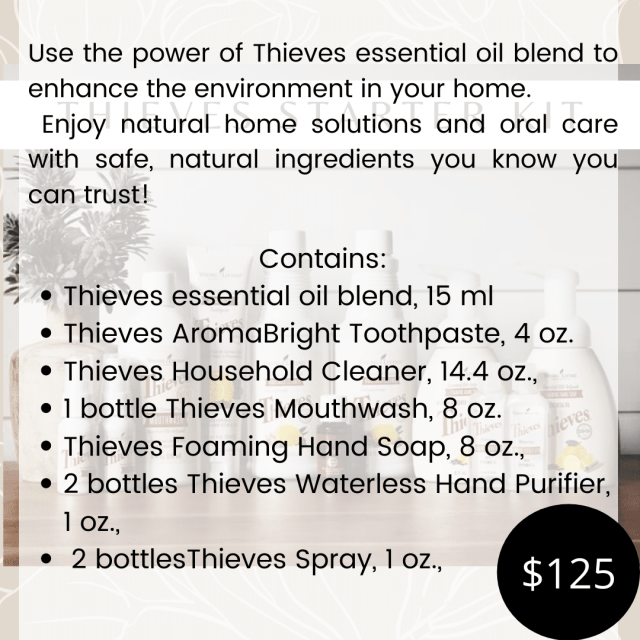 Thieves Kit Info