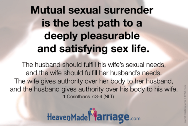 Mutual Sexual Surrender