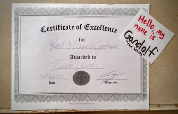 Excellence (except for my spelling)!