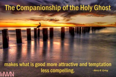 The companionship of the Holy Ghost
