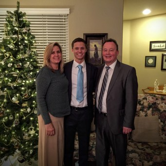 Elder Duvall and Parents