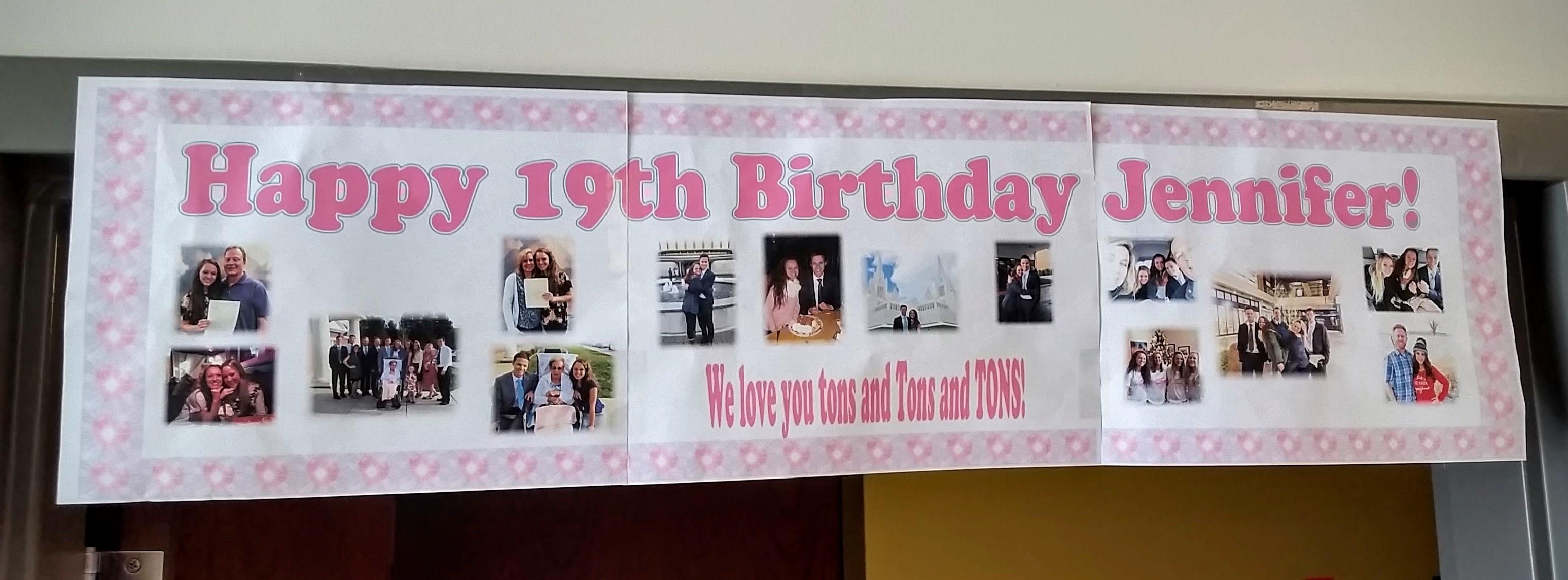 """Birth""-day surprise!"