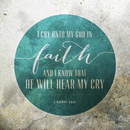 What does faith feel like?