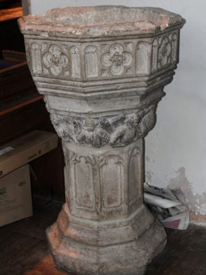 Font of St Michael's Church