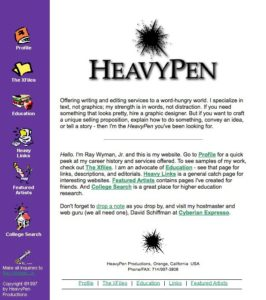 heavypen-dot-com-in-1997