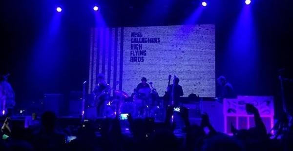 Noel Gallagher's High Flying Birds, Augustines [12.04.2016: Gasometer, Wien]