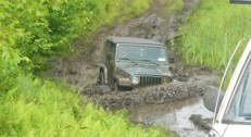 Jeep TJ deep mud to headlight