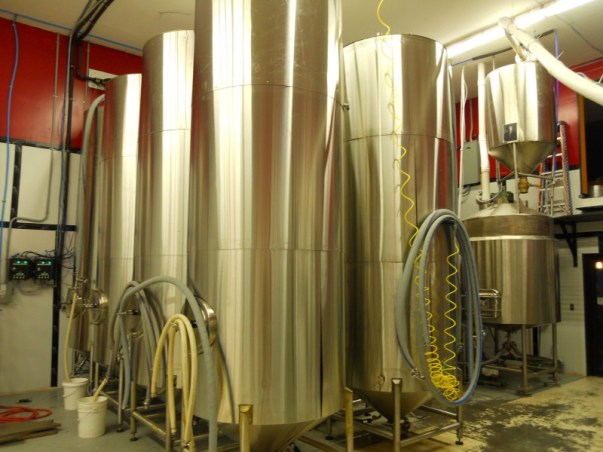 30 barrel stainless fermenting tanks