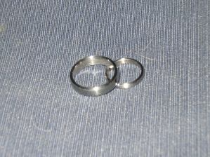 I made stainless and titanium rings long before they were popular.