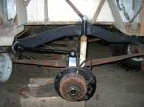 See that top link in the rear suspension?