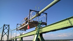 Next time you're visiting our neighbors to the North, be sure to check out the support platform we built.. It's awesome!