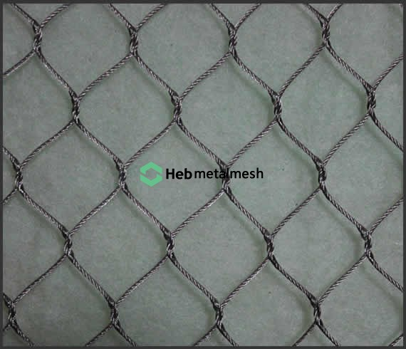 hand-woven stainless steel netting