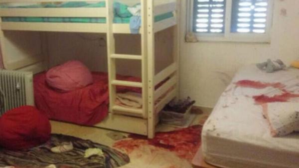 Así quedó la habitación de la niña luego de ser asesinada