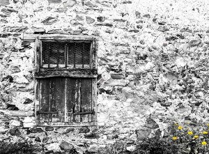 Old Window Hebridean Imaging Yvonne Benting art photography western isles outer hebrides uist