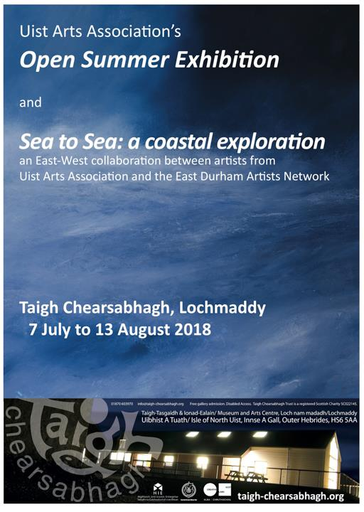 UAA Taigh Chearsabhagh exhibition Hebridean Imaging Yvonne Benting art photography uist outer hebrides western isles